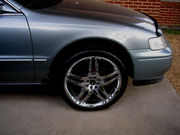 18 INCH CHROME RIMS WITH TIRES FOR SALE!!!   -    GREAT DEAL!!!!!!!!!!
