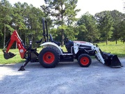 2010 Bobcat CT230 4X4 Tractor Loader Backhoe