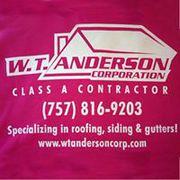 WT Anderson - Roofing,  siding & gutters in Hampton Roads