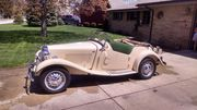 1952 MG T-Series 15670 miles